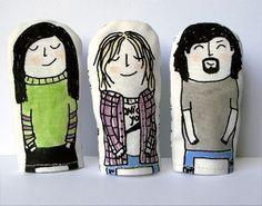 Nirvana Finger Puppets