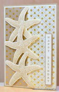 JanB Handmade Cards Atelier: Picture Perfect Starfish & Acetate