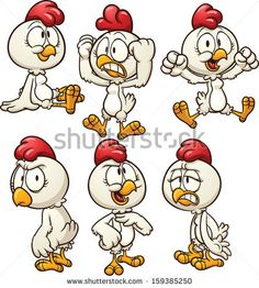 Chicken Mascot With Thumb Up Stock Vector Illustratie: 137182265 : Shutterstock