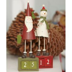Such a cute way to countdown to Christmas! Christmas Countdown, Christmas Time, Xmas, Christmas Party Decorations, Christmas Ornaments, Holiday Decor, Countdown Calendar, Christmas Characters, Party Supplies