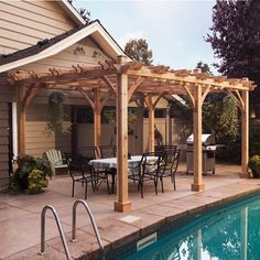 Learn How To Build A Outdoor Pergola Or Wooden Pergola For Your Garden With  This Professional Pergola Plans. If You Build Pergola In Backyard Patio You  Will ...
