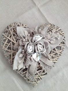 crafty White Things white collar jobs near me Wicker Hearts, Wooden Hearts, Decoration Shabby, Diy And Crafts, Arts And Crafts, Creation Deco, Heart Wreath, Door Wreath, I Love Heart