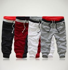 Free Shipping,2014 New Men Casual Sports Shorts/ loose male trousers/Harem shorts,4 Color,S-XXL, drop shipping
