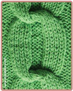 Galeria de puntos 4: Trenzas, ochos, cuerdas - Tejiendo Perú Cable Knitting Patterns, Knitting Basics, Knitting Stitches, Knitting Yarn, Knit Patterns, Knit Slippers Free Pattern, Knit Headband Pattern, Knitted Slippers, Knitted Headband