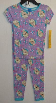 Purple Princess Elsa 2 Piece Girl's Pajama Set Size 8 Ship for sale online Toddler Pajamas, Girls Pajamas, Elsa 2, New Girl, Princesses, Pajama Set, Girl Outfits, Rompers, Purple