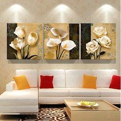 Cheap Brown Orchid Modern Art Decor Mural Painting Living Room Wall Printing Pictures Printed on Canvas (NO Frame) Room Wall Painting, Mural Painting, Mural Art, Oil Painting On Canvas, Painting Frames, Canvas Art Prints, Wall Paintings, Painting Flowers, Art Art