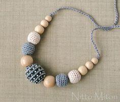 Breastfeeding Nursing necklace Teething necklace for mom