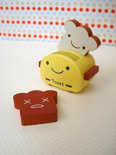 Kawaii Toaster and Toasts Pusheen Stuff, Japanese Drawings, Toasters, All Things Cute, Cute Toys, Polymer Clay Art, Diy Clay, Kawaii Cute, Plushies
