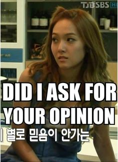 When someone say they don't like Kpop