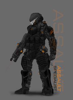 Assault Specialst (SPECIALISTS concept remake) by ~ianskie1 on deviantART