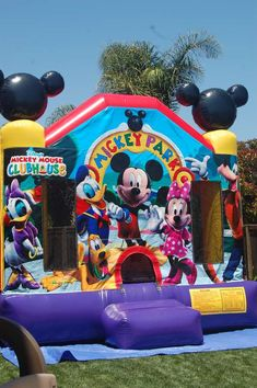 """Mickey Mouse Club House/Oh """"two""""dles! Birthday Party Ideas 