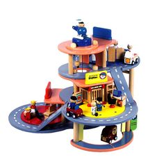 Emergency Services Centre - Bigjigs toys