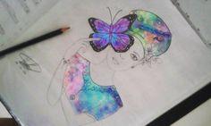Mariposa cosmica