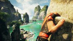 """Eines der weltweit ersten ausschließlich für Virtual Reality konzipierten Triple-A-Spiele kommt aus Deutschland: Wir haben eine frühe Fassung von """"The Climb"""" bei Crytek in Frankfurt angetestet."""