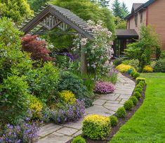 Красивые дизайны в частных садах/Остров Вэшон-Мори, Вашингтон /Vashon-Maury Island, WA Driscoll garden. Обсуждение на LiveInternet - Российский Сервис Онлайн-Дневников