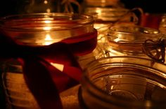 You can pour soy wax into jars for easy container candles