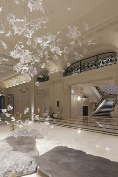 The Peninsula Hotel, Paris designed by Henry Leung of Chhada Siembieda Leung and Richard Martinet of Affine architecture & interior design