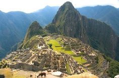 "Ruins Of Machu Picchu - Peru Which is one of the places I want to see for sure before I ""Kick The Bucket!"""