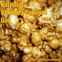 National Caramel Popcorn Day - April 6, 2017