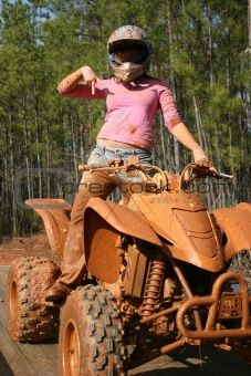 I love quad riding. Quad riding in the mud is even better :)