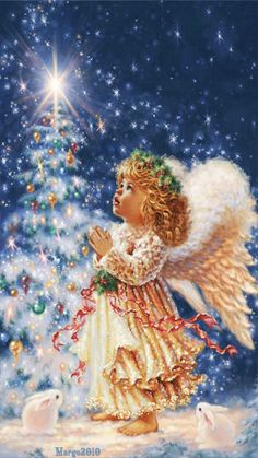 Merry Christmas Wishes : Illustration Description My Christmas Wish Christmas Jigsaw Puzzle Christmas Scenes, Christmas Past, Christmas Images, Christmas Wishes, Christmas Angels, Christmas Greetings, Winter Christmas, Christmas Crafts, Christmas Decorations