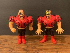 HAWK RARE WWF HASBRO HISTORY L.O.D