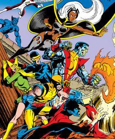 Uncanny X-Men art by John Byrne.