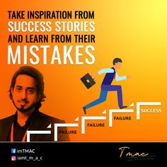 There are plenty of #successful people out there with as many failure chapters in their lives. The ideal thing to do when you are struggling is to learn lessons from the journey of these #people to avoid making the same #mistakes. Even successful people have enough humility to look up to someone as a peer in their #life. So, let not any envy enter your mind and celebrate the milestones of their #success #stories and learn simultaneously. Success And Failure, Successful People, Humility, Looking Up, Mistakes, Envy, Motivational, Mindfulness, Journey