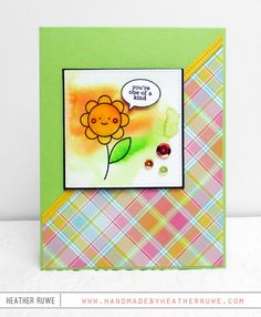 Handmade by Heather Ruwe: Simon Says Stamp May Card Kit!