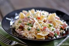 Dress up your pasta recipes the easy way! Plus the recipe for delicious Creamy Bow-Tie Pasta with Ham   eMeals
