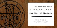 Financials for Spiral Nature December 2017