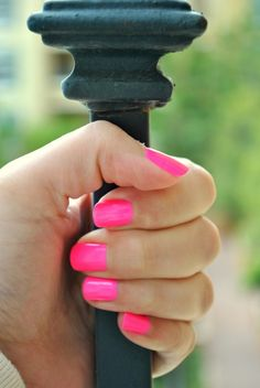China Glaze Pink Voltage (Neon) ~ Own this color and adore it!