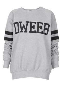 Dweeb Sweat - Made In Britain - Collections - Topshop USA