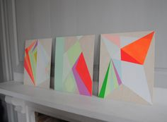Commissioned to colour - abstract artist Trudie Moore - The Chromologist