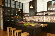 Loft love alert! Brought to drool-worthy status by New York design/build and interiors firm Stu...