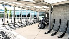 #Bikearc racks are elegant looking and space saving. But can they handle the weight of an ebike?