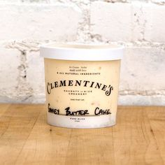 Gooey Butter Cake Ice Cream by Clementine's Creamery