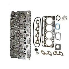 : Number of cylinder: Interchange Part Number: bobcat Bobcat 238 328 Manufacturer Part Number: Diesel Cylinder Head with Valves Springs Gasket Applicationï¼? Kubota Tractors, Aftermarket Parts, Cylinder Head, Diesel Engine, Heavy Equipment, Free Shipping, Spare Parts