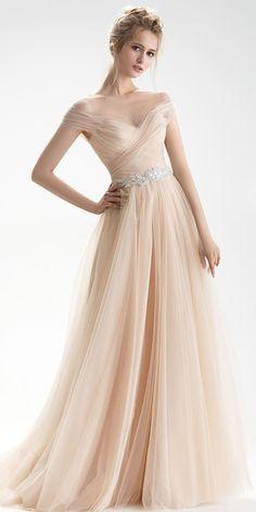 cb76ccbf9d9  163.99  Wonderful Tulle Sheer Jewel Neckline Natural Waistline A-line  Wedding Dress With Beadings - ailsabridal.com