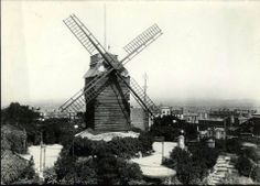Le moulin de la Gallette, vers 1910