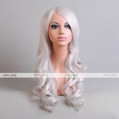 """25 5"""" 65cm Long Hair Heat Resistant Spiral Curly Cosplay Wig 14 Colors 