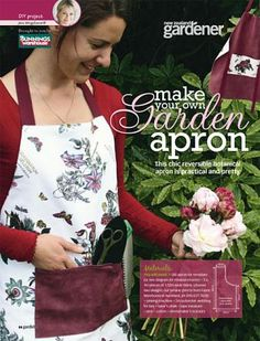 DIY: Make an apron — Flaming Petal Blog