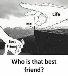 ❣️tag your bff❣️ Best Friend Quotes Funny, Besties Quotes, Funny Quotes, Bffs, Crazy Friend Quotes, Qoutes, Real Friendship Quotes, Best Friendship, Crazy Friends