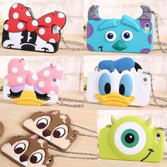 New 3D Cartoon Disney Rubber Silicone Soft Strap Case Cover for iPhone 6 Plus 5S #UnbrandedGeneric