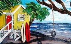 Yellow Beach Shack