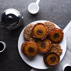 Caramelized Apple Upside-down cookies for breakfast? Absolutely!
