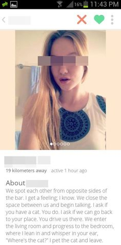 This perfectly understandable bio. | The 23 Most Important Moments In Tinder History