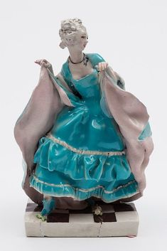 Buy online, view images and see past prices for A Chelsea Cheyne pottery theatrical figure modelle. Invaluable is the world's largest marketplace for art, antiques, and collectibles. Crinoline Dress, Queen Mary, Figure Model, Chinoiserie, Disney Characters, Fictional Characters, Chelsea, Women Wear, Pottery