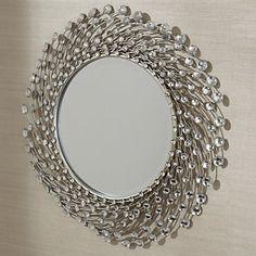 Beaded Mirror Glass Beaded Home Mirror Mirror Mirror Espelho Mirror