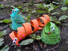 Animais feitos com rolo de papel - A Arte de Ensinar e Aprender